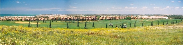Panorama of Barrosa (Chiclana), 43k